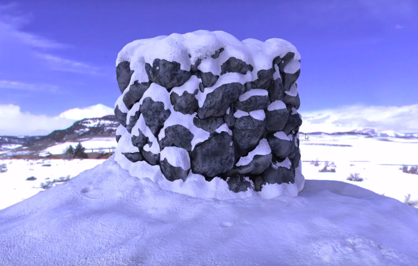 3D Sculpting with Photos(stone and snow)-Part1